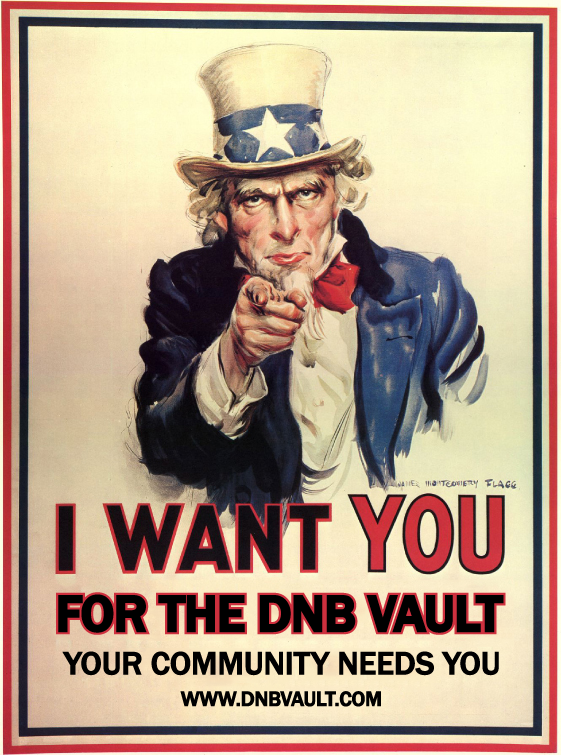Uncle Sam wants you for the DNB Vault