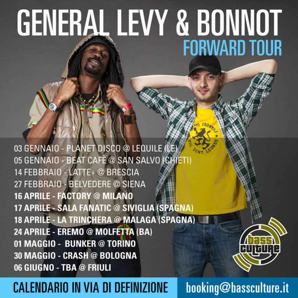 General Levy & Bonnot Tour