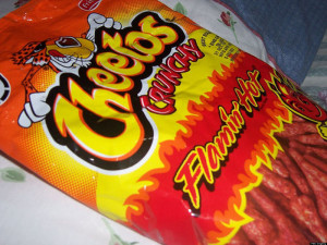 flamin hot cheetos